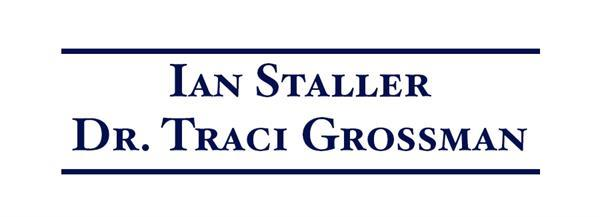 Ian Staller and Traci Grossman
